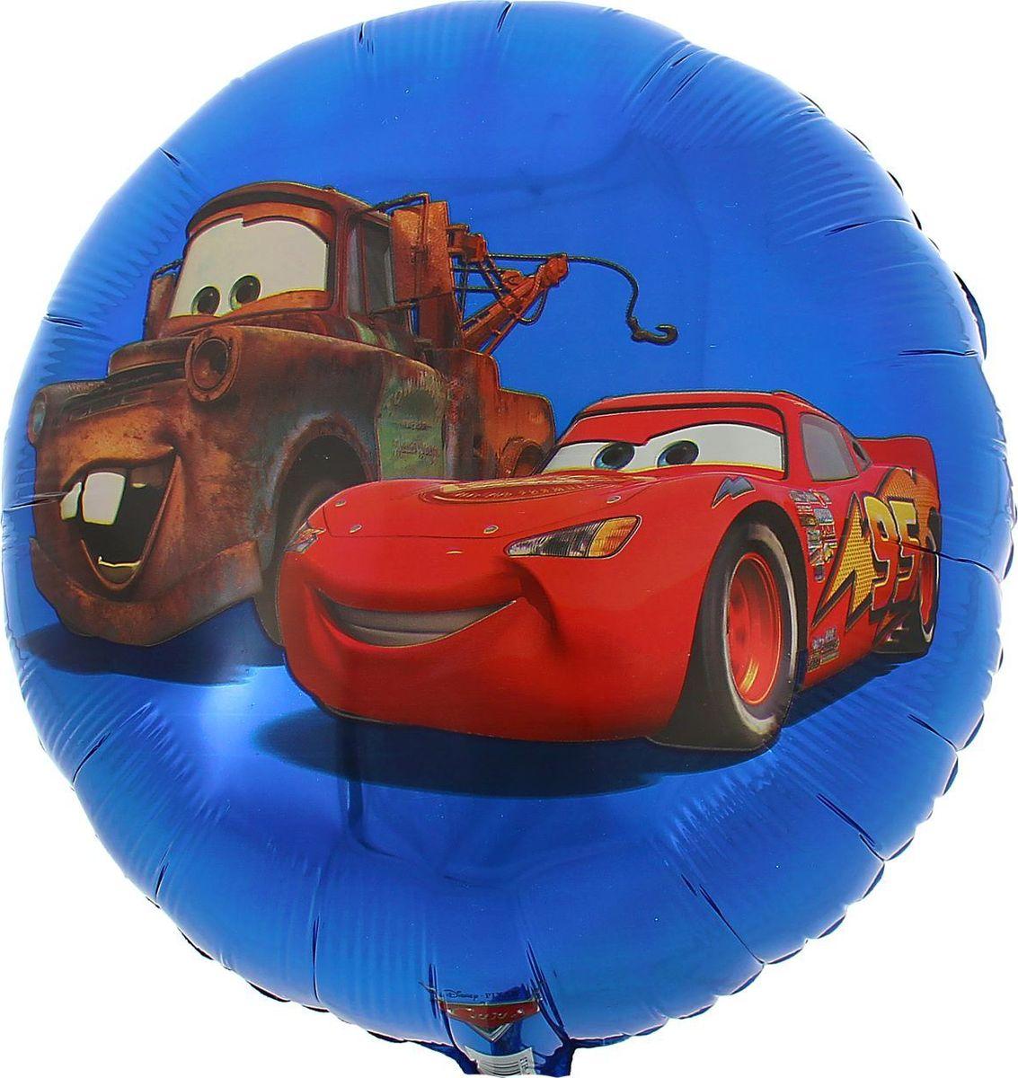 Disney Шар воздушный Тачки Круг 18 Street -  Воздушные шарики