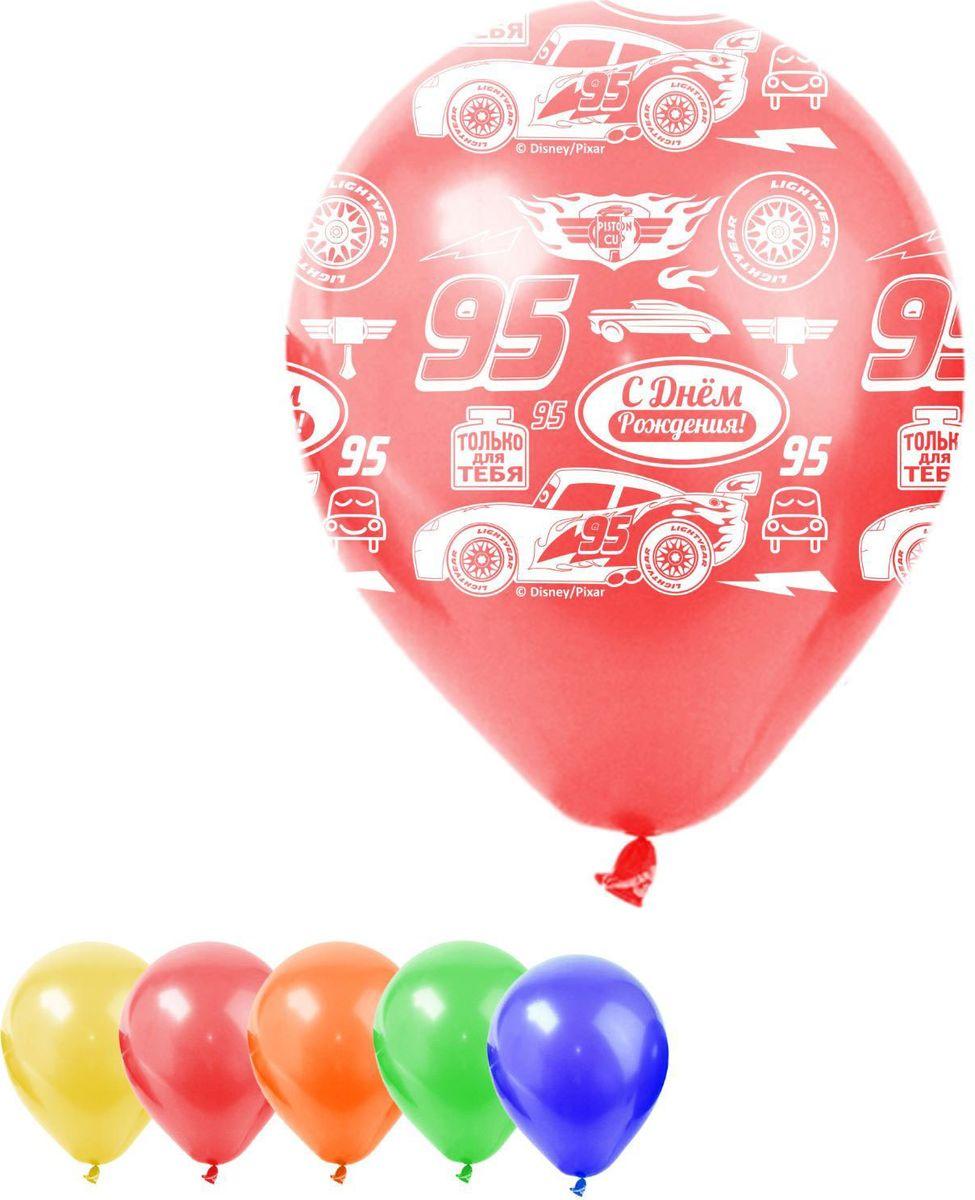Disney Набор воздушных шаров С днем рождения Тачки 25 шт 1442456 -  Воздушные шарики
