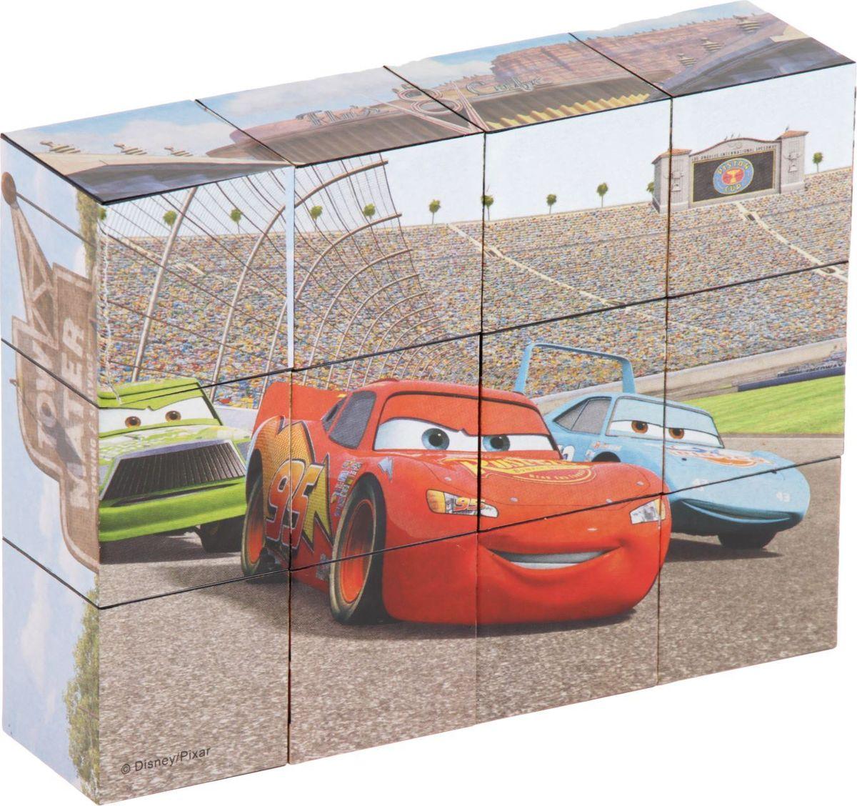 Step Puzzle Кубики Тачки 12 шт игрушки для мальчиков тачки