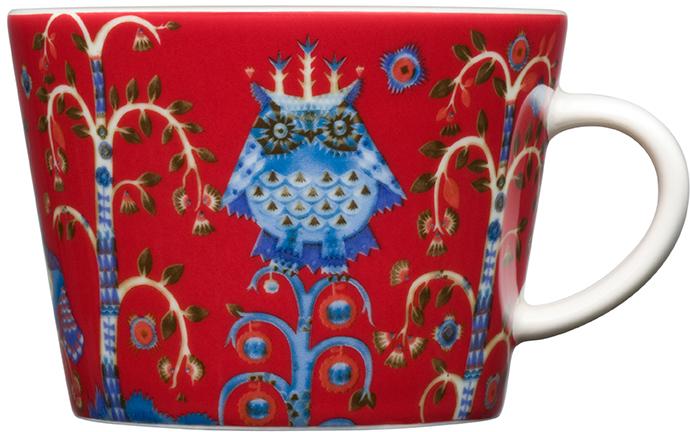 Чашка кофейная Iittala Taika, цвет: красный, 200 мл1012485