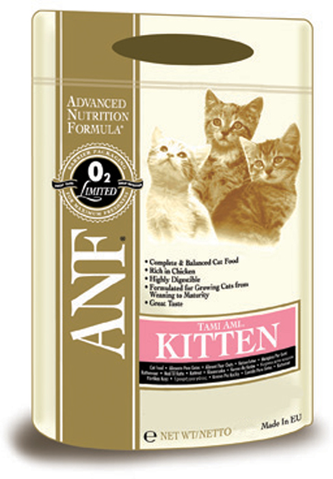 Корм сухой ANF Tami Ami для котят, 400 г смесь печная 25 кг