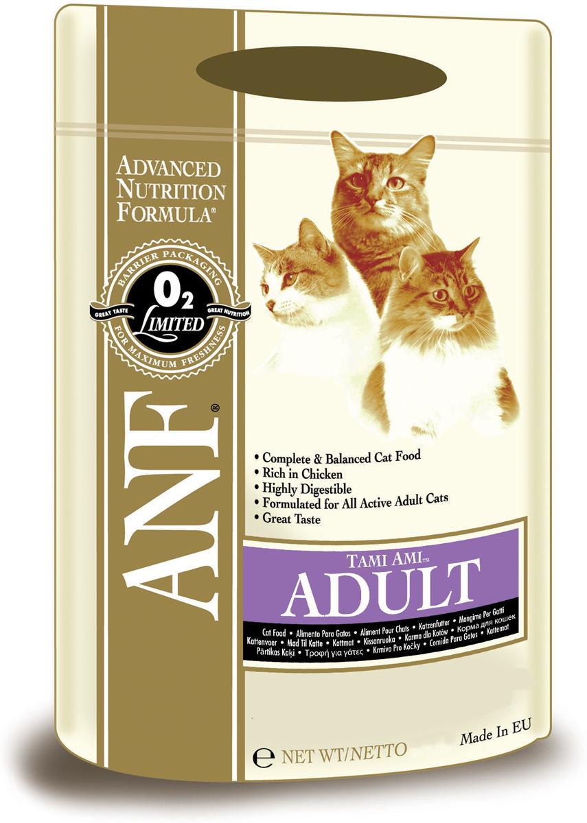 Корм сухой ANF Tami Ami для взрослых кошек, 10 кг550Сбалансированная формула для взрослых кошек основана на протеине курицы, рыбы, добавлению яиц. Замечательный вкус способен удовлетворить запросам самых требовательных кошек.Высококачественная диета для взрослых кошек всех пород, с нормальной активностью. Формула разработана на основе трех самых ценных источников протеина, полученных мяса из курицы, рыбы и яиц, также в своем составе содержит пивоваренный рис и овес, чтобы обеспечить баланс необходимых углеводов. Имеет свежий природный аромат и вкус, который удовлетворит даже самых требовательных кошек. Данная диета разработана для полноценного питания, стимулирования и поддержания здоровья кошки в отличном состоянии.В составе корма отсутствует зерновые и соя. Это значительно облегчает переваривание, повышая переносимость пищи и не приводит к расстройствам пищеварительной системы.Состав: куриная мука (мин. 40%), дробленый белый рис, куриный жир (содержащий консерванты из токоферолов), овес, свекловичный жом, рыбная мука, яичный порошок, соус из куриной печени, лецитин, рыбий жир, хлорид натрия, dl-метионин, пивные дрожжи, холинхлорид, таурин, сульфат цинка, экстракт Yucca Schidigera, сульфат железа, смесь токоферола (витамин Е) (альфа-токоферола ацетат), сульфат марганца, витамин РР, смесь витамина В12, смесь витамина А (ретинилацетат), сульфат меди, смесь селенита натрия, пантотенат кальция, смесь витамина Н (биотин), смес витамина D3 (холекальциферол), смесь витамина В1 (тиамина мононитрат), смесь витамина В2 (рибофлавин), витамин В6 (пиридоксина гидрохлорид), смесь витамина К, фолиевая кислота. Гарантированный состав: белок - 32,00%, жир - 20,00%, сырая зола - 10,00%, сырая клетчатка - 3,50%, влажность - 7%, магний (Mg) - 0,1%, кальций (Са) - 2,30% , фосфор (Р) - 1,33%, таурин - 509 мг/кг, жирные кислоты Омега-6 - 3,35%, жирные кислоты Омега-3 - 0,74%, витамин А - 22,917 МЕ/кг, витамин D3 - 1,833 МЕ/кг, витамин Е - 113 МЕ/кг, витамин С - 16мг/кг, пентагидрат сульф