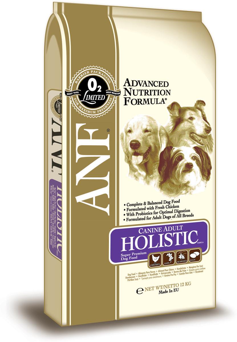 Корм сухой ANF Holistic для взрослых собак, 12 кг649Исследования данного корма, проведенные с применением методов Американской ассоциации официального контроля за качеством пищевой продукции (AAFCO) подтверждают, что ANF Canine Adult Holistic Formula обеспечивает полноценное и сбалансированное питание на всех этапах развития. Отличный вкус для взрослых собак Специально подобранный состав для здоровья суставов (хондроитин сульфат, глюкозамин и метилсульфонилметан) Корм содержит пробиотик (полезная кишечная бактерия) для улучшения процесса пищеварения. В состав рациона добавлено свежее мясо курицы.СОСТАВ:куриная мука (29%), дробленый белый рис, мясо курицы (8%), свекловичный жом, куриный жир (содержащий консерванты из токоферолов), овес (6,5%), люцерна, рыбная мука, яичный порошок (1,2%), льняное семя, соус из куриной печени, карбонат кальция, лецитин, хлорид калия, хлорид натрия, рыбий жир, морские водоросли (0,2%), холинхлорид, смесь токоферола (витамина Е) (альфа_токоферола ацетат), глюкозамин, метилсульфонилметан, экстракт Yucca Schidigera, хондроитин сульфат, аскорбил монофосфат, сульфат железа, сульфат цинка, сульфат марганца, сульфат меди, смесь витамина В12, смесь витамина А (ретинилацетат), витамин РР, смесь селенита натрия, смесь витамина D3 (холекальциферол), смесь витамина Н (биотин), пантотенат кальция, витамин В1(тиамин мононитрат), смесь витамина В2 (рибофлавин), витамин В6 (пиридоксина гидрохлорид), йодат кальция, фолиевая кислота, пробиотик (Enterococcus faecium). ГАРАНТИРОВАННЫЙ СОСТАВ: Сырой белок - 24,00% Сырой жир - 15,00% Сырая клетчатка - 4,3% Сырая зола - 9,5% Влажность - 8,00% Кальций (Ca) - 1,97% Фосфор (Р) - 1,28% Жирные кислоты Омега-6 - 2,03% Жирные кислоты Омега-3 - 1,29% Глюкозамин - 340 мг/кг Хондроитин сульфат - 240 мг/кг Метилсульфонилметан - 340 мг/кг Витамин А - 27,535 МЕ/кг Витамин D3 - 2,163 МЕ/кг Витамин Е - 196 МЕ/кг Витамин С - 175 мг/кг Пентагидрат сульфата меди - 57,69 мг/кг Энергетическая ценность - 352 ккал/100 гр.
