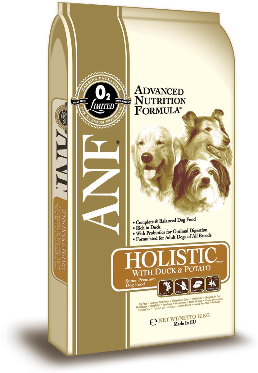Корм сухой ANF Holistic для взрослых собак, с мясом утки и картофелем, 12 кг590Исследования данного корма, проведенные с применением методов Американской ассоциации официального контроля за качеством пищевой продукции (AAFCO) подтверждают, что ANF Duck Meal & Potato Holistic Forula обеспечивает полноценное и сбалансированное питание на всех этапах. Содержит только мясо утки в качестве источника белка животного происхождения для гипоаллергенной диеты. Содержит пробиотик (полезная кишечная бактерия) для улучшения процесса пищеварения. Только рис и овес в качестве легкоусвояемых злаковых. Состав: мука из мяса утки (мин. 28%), дробленый коричневый рис, дробленый белый рис, свекловичный жом, куриный жир (содержащий консерванты из токоферолов), овес (7%), картофель (мин.6%), яичный порошок (2%), льняное семя, горох, соус из куриной печени, карбонат кальция, лецитин, рыбий жир, мононатрийфосфат, хлорид калия, хлорид натрия, морские водоросли (0,2%), холинхлорид, смесь токоферола (витамина Е) (альфа-токоферола ацетат), экстракт Yucca Schidigera, аскорбил монофосфат, сульфат железа, сульфат цинка, сульфат марганца, сульфат меди, смесь витаминов В12, смесь витамина А (ретинилацетат), витамин РР, смесь селенита натрия, смесь витамина D3 (холекальциферол), смесь витамина Н (биотин), пантотенат кальция, витамин В1 (тиамина мононитрат), смесь витамина В12 (рибофлавин), витамин В6 (пиридоксина гидрохлорид), йодат кальция, фолиевая кислота, пробиотик (Enterococcus faecium). Гарантированный состав: сырой белок - 24,00%, сырой жир - 15,00%, сырая клетчатка - 3,50%, сырая зола - 10,00%, влажность - 8,00%, кальций (Са) - 1,73%, фосфор (Р) - 1,14%, жирные кислоты Омега-6 - 2,66%, жирные кислоты Омега-3 - 0,61%, витамин А - 29,167 МЕ/кг, витамин D3 - 2,292 МЕ/кг, витамин Е - 208 МЕ/кг, витамин С - 185 мг/кг, пентагидрат сульфата меди - 20мг/кг. Энергетическая ценность: 350 ккал/100 г.Товар сертифицирован.