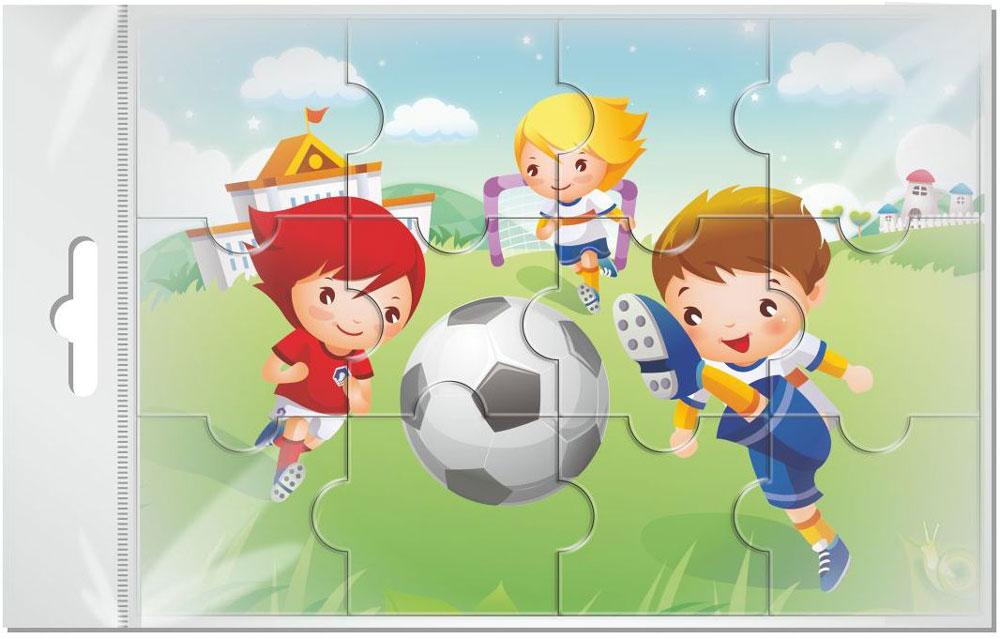 Издательская группа Квадра Пазл для малышей Футбол издательская группа квадра пазл для малышей осьминог