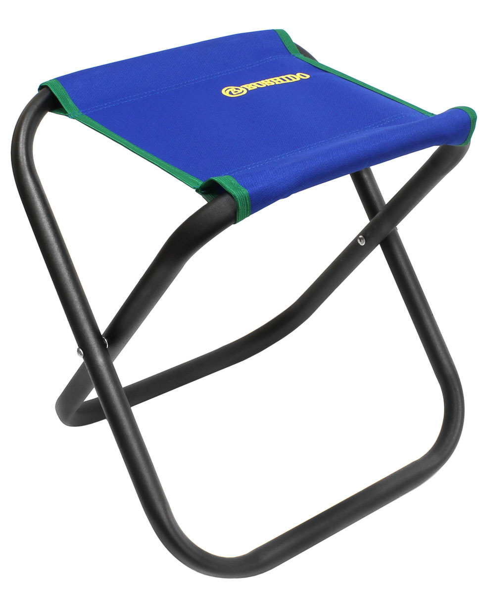 Стул складной Bushido, цвет: синий, 35 х 28 х 33 смAS 25Складной стул без спинки. Размер: 350 х 280 х 330 мм. Диаметр трубы - 22 мм. Максимальная нагрузка 100 кг. Предназначен для отдыха на природе, пикника или рыбалки.