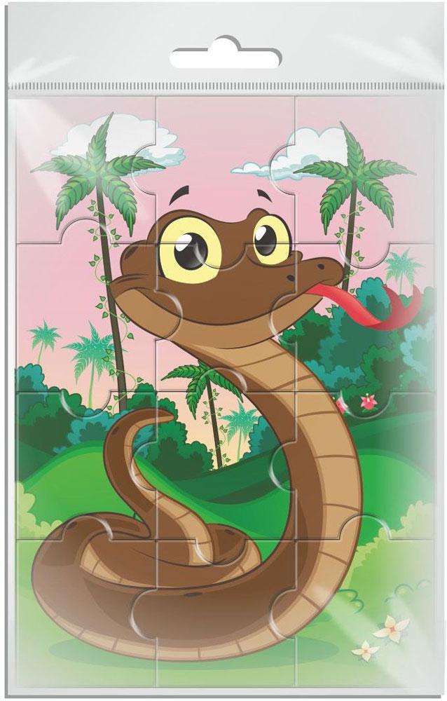 Издательская группа Квадра Пазл для малышей Змейка издательская группа квадра пазл для малышей осьминог
