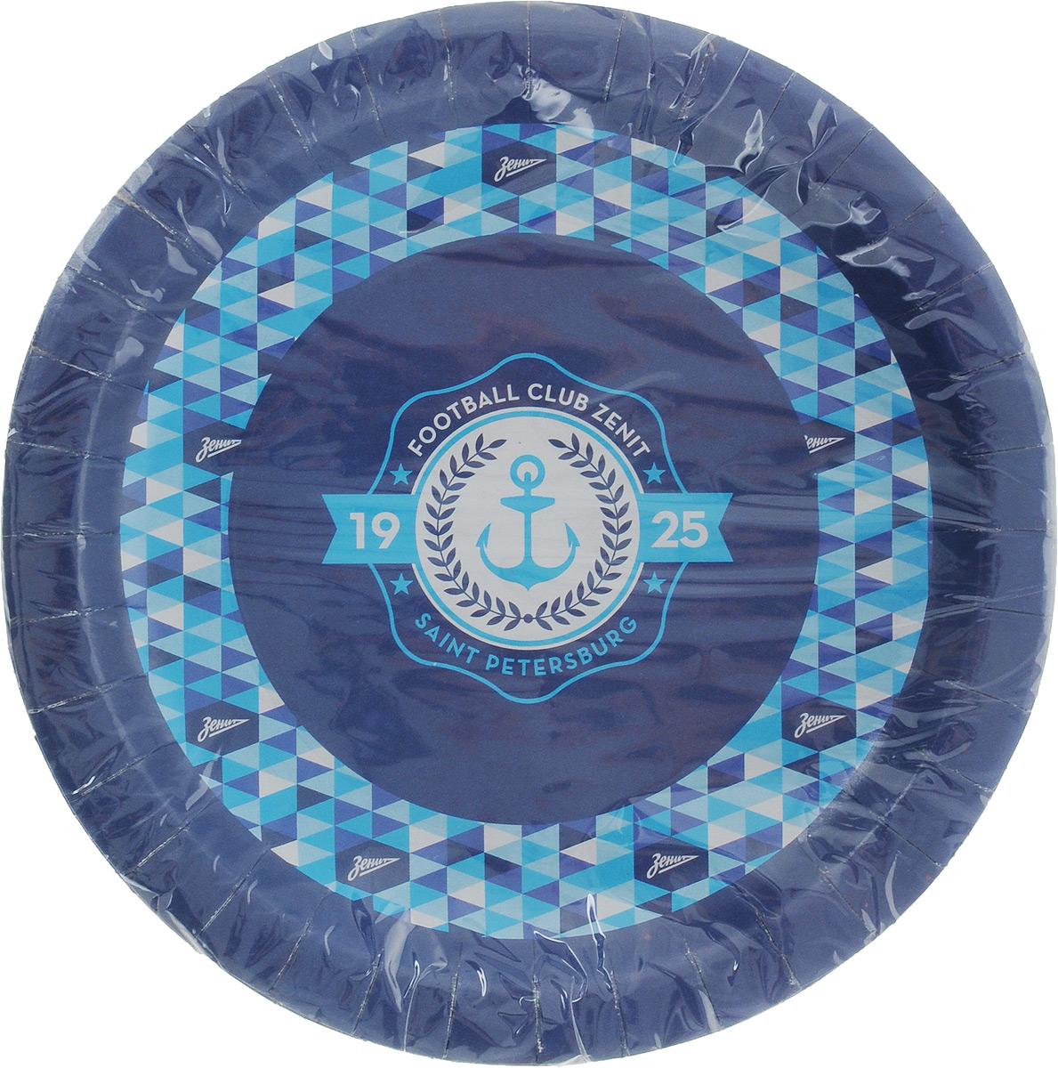 Набор одноразовых тарелок Зенит