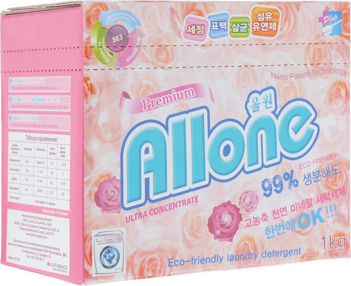 """Концентрированный стиральный порошок С&E """"Allone"""", 1 кг. 41027"""