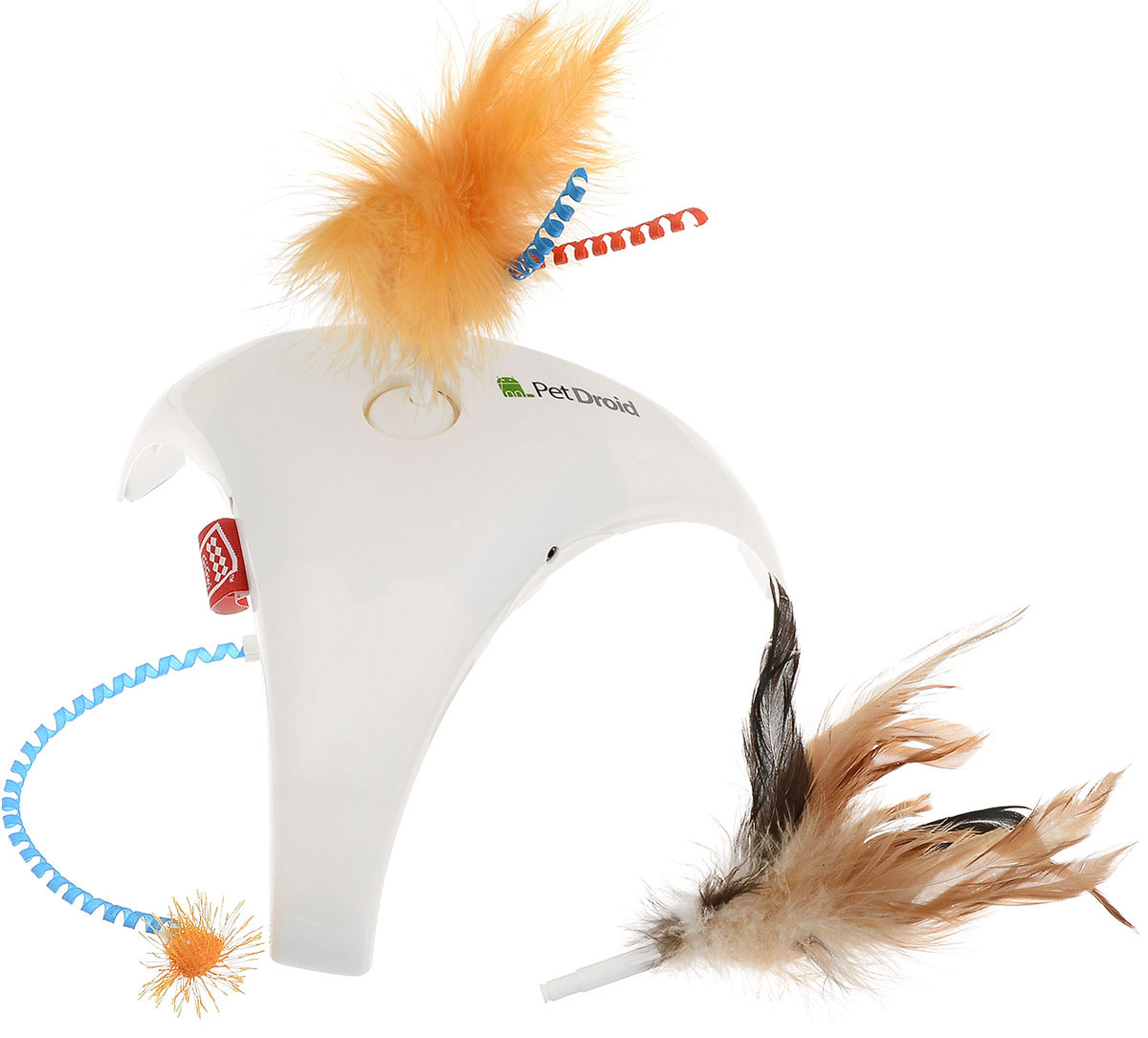 Игрушка для кошек GiGwi Feather Spinner, интерактивная16211/625596_розовыйИгрушка для кошек GiGwi Feather Spinner станет незаменимым интерактивным развлечением для любой кошки, развивая и поддерживая ее природный охотничий инстинкт. Игрушка состоит из пластикового корпуса и трех насадок с перьями. Игрушка снабжена 3 датчиками движения, которые активируют саму игрушку при подходе к ней кошки.В комплект входят сменные насадки.Игрушка работает от двух батареек типа АА (не входят в комплект).