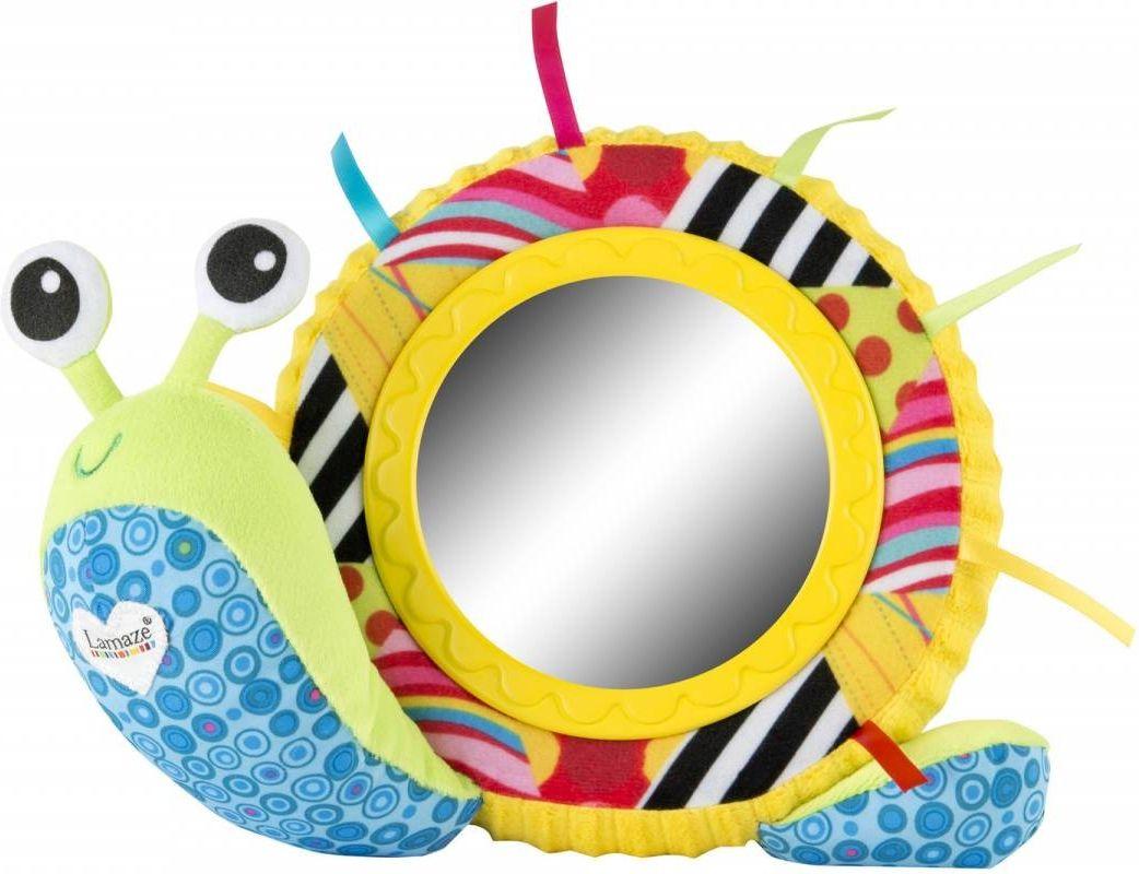 Lamaze Развивающая игрушка Улитка Мишель с зеркальцем lamaze улитка мишель с зеркальцем