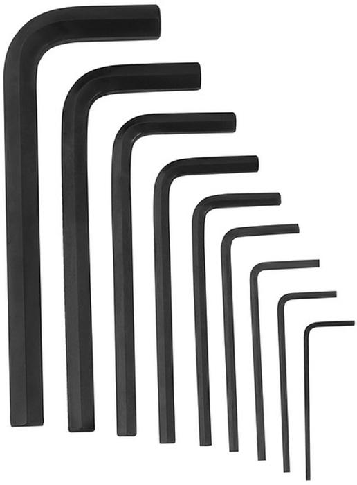 Набор шестигранных ключей Vira, 9 шт. 303147CA-3505Набор Vira состоит из девяти шестигранных ключей Г-образной формы предназначен для монтажа (демонтажа) деталей с шестигранным углублением. В набор входят ключи следующих размеров: 1,5; 2; 2,5; 3; 4; 5; 6; 8; 10 мм. Каждый ключ изготовлен из высококачественной хромванадиевой стали. Это обеспечивает высокую износостойкость и значительно увеличивает срок службы инструмента. Такой набор пригодится дома, в машине, на даче. В пластиковом чехле удобно транспортировать весь набор.