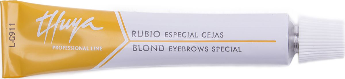 Thuya Блонд Краска для бровей и ресниц, 14 млTH-00001Разработана специально для профессионалов, осветляет на 1-2 тона. Осветление натуральных волос для последующего применения цветового оттенка.Не следует наносить на ресницы. Используется для:- для осветления натуральных бровей- для осветления темных бровей и последующего окрашивания в нужный тон светлого оттенка- для выравнивания цвета седых и неоднотонных бровей для их последующего однотонного ровного окрашиванияРекомендовано использование Кремового оксида Thuya. Всемирно-Известный Европейский бренд Компания THUYA уже более 25 лет занимает лидирующие позиции в Европе по производству продуктов для окрашивания бровей и ресниц ПРЕМИУМ класса и представлена в более чем 50 странах мира. Вся продукция проходит постоянные дерматологические офтальмологические тесты. Вся продукция является сертифицированной.Вся продукция соответствует высокому контролю качества в согласии с европейскими косметическими нормами (Genetest).