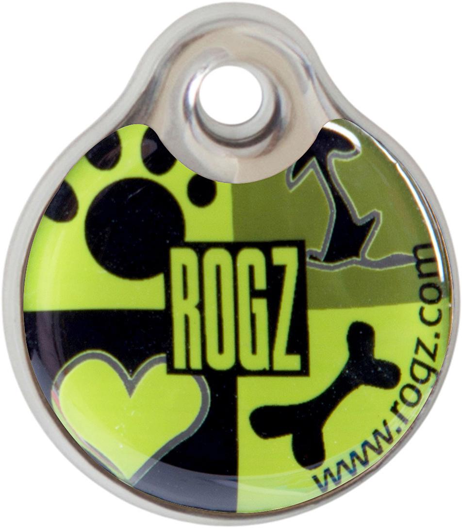 Адресник на ошейник Rogz Fancy Dress, диаметр 2,7 см. IDR27CFIDR27CFАдресник на ошейник Rogz Fancy Dress мгновенно готов к использованию.Не требует специальной гравировки. Вся информация может быть записана хозяином сразу после покупки.Защита от коррозии.Дизайн адресника создан таким образом, чтобы дополнить рисунок и расцветку аксессуаров коллекции Fancy Dress.Бесшумность. Не гремит при движении собаки.