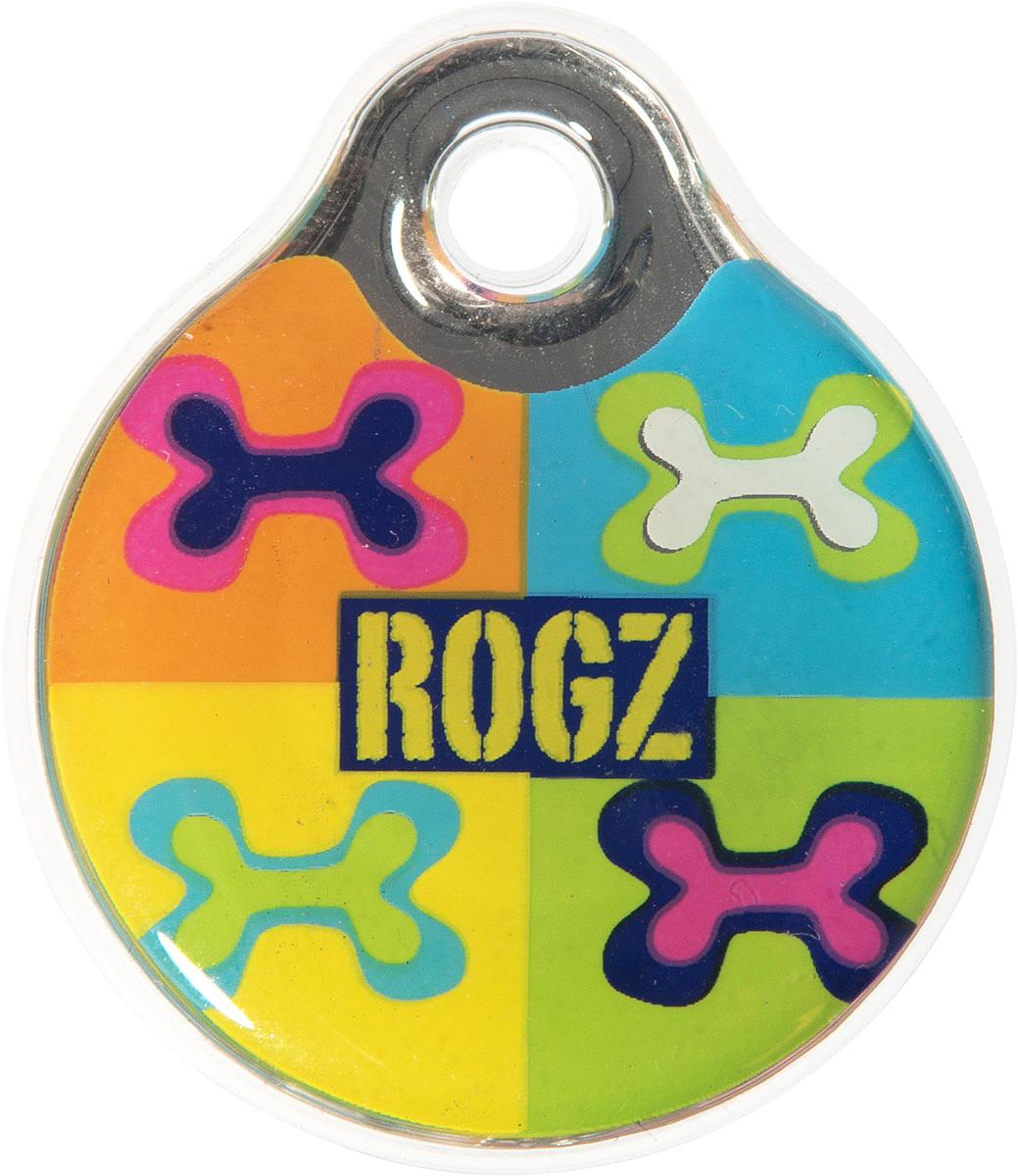 Адресник на ошейник Rogz Fancy Dress, диаметр 3,4 см. IDR34BWHL03CEАдресник на ошейник Rogz Fancy Dress мгновенно готов к использованию.Не требует специальной гравировки. Вся информация может быть записана хозяином сразу после покупки.Защита от коррозии.Дизайн адресника создан таким образом, чтобы дополнить рисунок и расцветку аксессуаров коллекции Fancy Dress.Бесшумность. Не гремит при движении собаки.