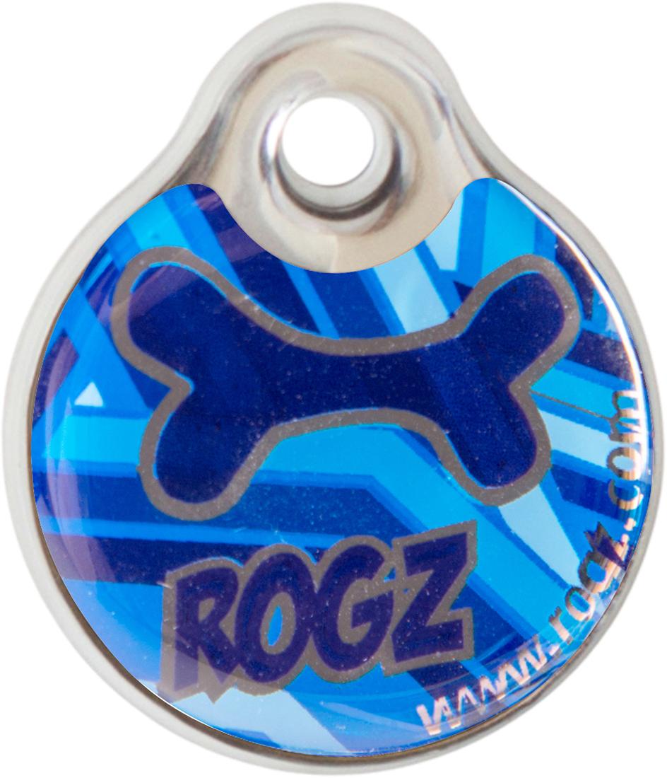 Адресник на ошейник Rogz Fancy Dress, диаметр 3,4 см. IDR34CD0120710Адресник на ошейник Rogz Fancy Dress мгновенно готов к использованию.Не требует специальной гравировки. Вся информация может быть записана хозяином сразу после покупки.Защита от коррозии.Дизайн адресника создан таким образом, чтобы дополнить рисунок и расцветку аксессуаров коллекции Fancy Dress.Бесшумность. Не гремит при движении собаки.