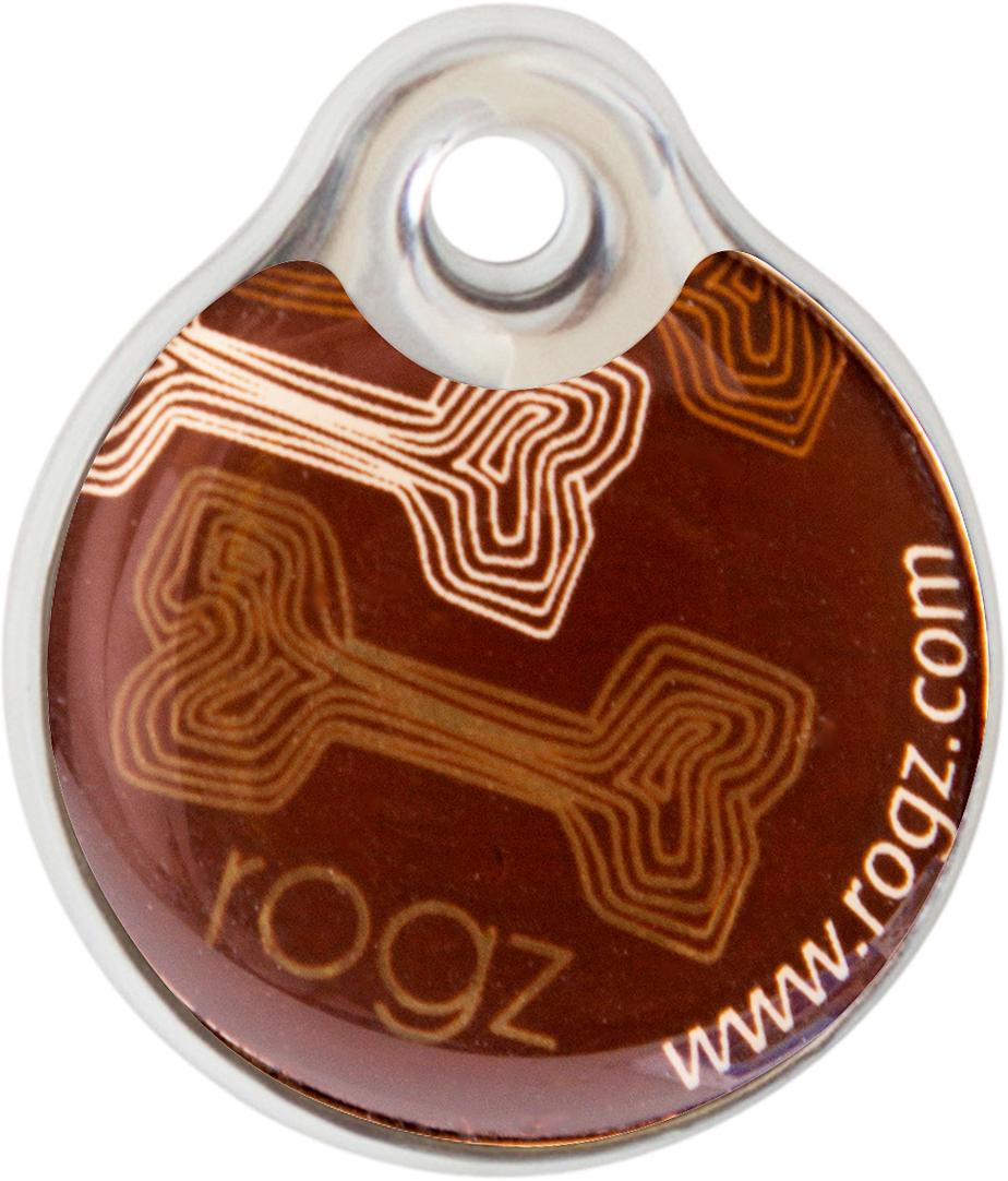 Адресник на ошейник Rogz Fancy Dress, диаметр 3,4 см. IDR34CE0120710Адресник на ошейник Rogz Fancy Dress мгновенно готов к использованию.Не требует специальной гравировки. Вся информация может быть записана хозяином сразу после покупки.Защита от коррозии.Дизайн адресника создан таким образом, чтобы дополнить рисунок и расцветку аксессуаров коллекции Fancy Dress.Бесшумность. Не гремит при движении собаки.