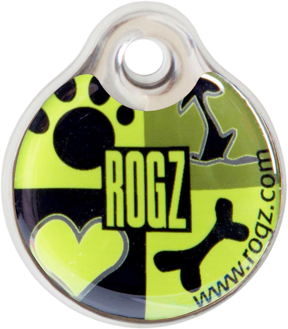 Адресник на ошейник Rogz Fancy Dress, диаметр 3,4 см. IDR34CFIDR34CFАдресник на ошейник Rogz Fancy Dress мгновенно готов к использованию.Не требует специальной гравировки. Вся информация может быть записана хозяином сразу после покупки.Защита от коррозии.Дизайн адресника создан таким образом, чтобы дополнить рисунок и расцветку аксессуаров коллекции Fancy Dress.Бесшумность. Не гремит при движении собаки.