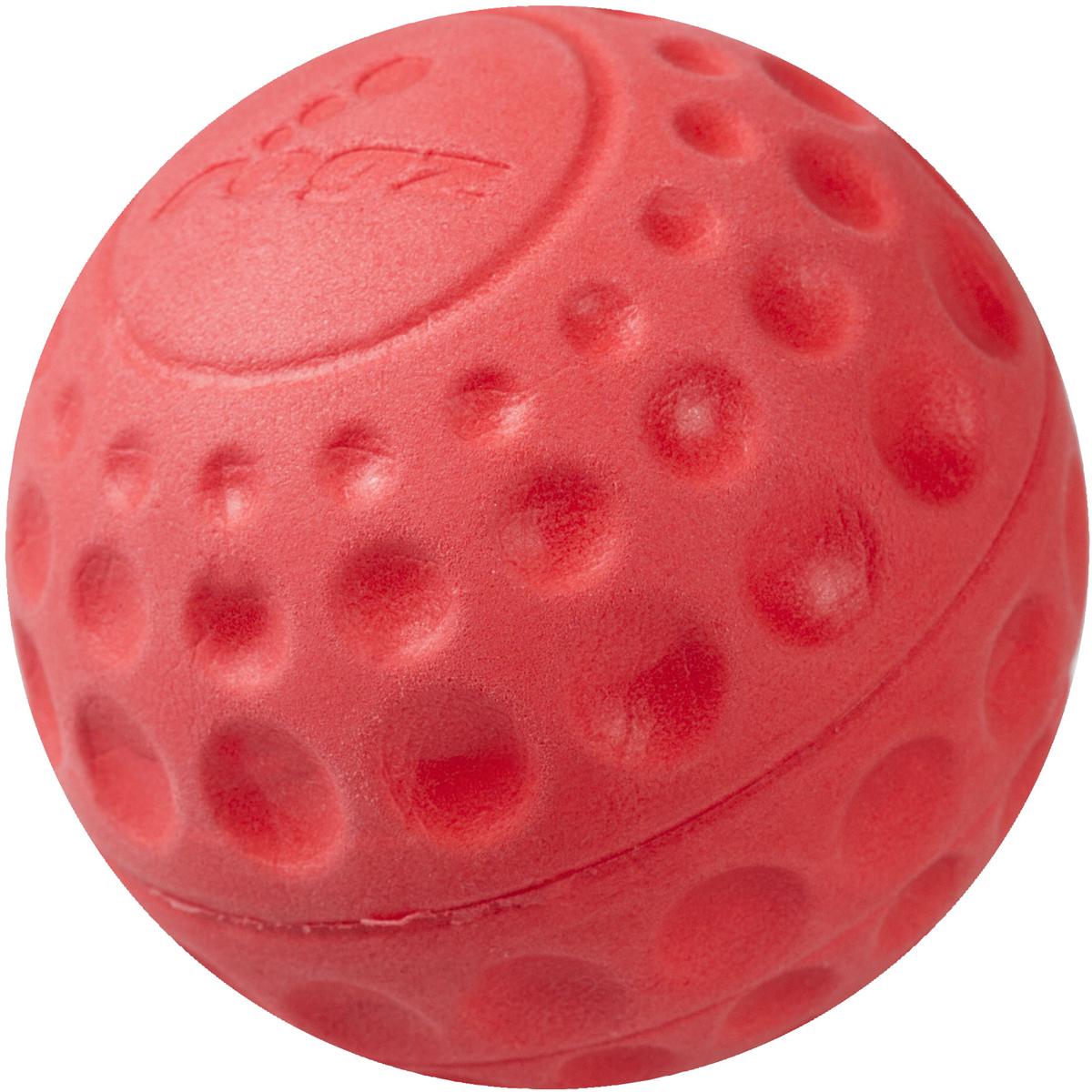 Игрушка для собак Rogz Asteroidz, цвет: красный, диаметр 6,4 см0120710Мяч для собак Rogz Asteroidz предназначен для игры с хозяином Принеси.Мяч имеет небольшой вес, не травмирует десна, не повреждает зубы, удобно носить в пасти.Отличная упругость для подпрыгивания.Изготовлено из особого термоэла-стопласта Sebs, обеспечивающего великолепную плавучесть в воде, поэтому игрушка отлично подходит для игры в водоеме. Материал изделия: EVA (этиленвинилацетат) - легкий мелкопористый материал, похожий на застывшую пену.Не токсичен.