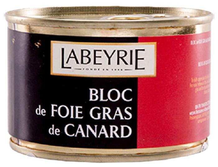 LaBeyrie Фуа-гра утиная, 150 г0120710Продукт, который состоит из перемолотой печени, но с добавлением кусочков цельной фуа-гра.