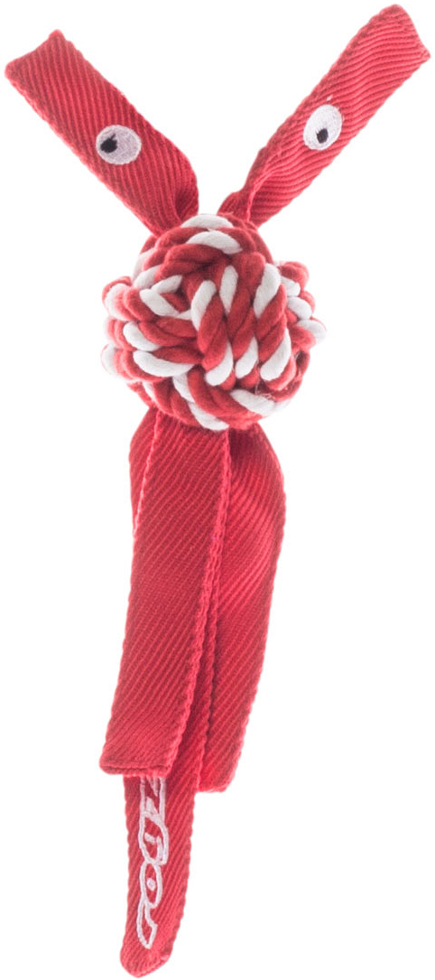 Игрушка для собак Rogz  CowBoyz , цвет: красный, 4,9 х 25 см - Игрушки