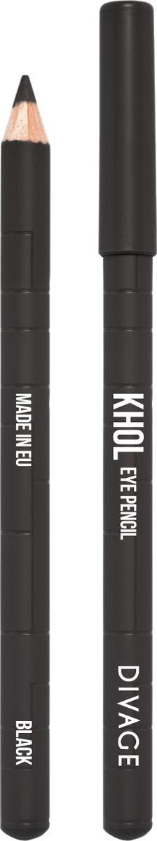 Divage Карандаш Для Глаз Каял, черныйPMF3000Нежный кремовый состав карандаша позволяет легко наносить контур на чувствительную слизистую глаза, аккуратно прокрашивая внутреннюю поверхность века. Благодаря деликатному нанесению KHOL не вызывает раздражения или покраснения слизистой, глазки не слезятся. Подводка, выполненная карандашом KHOL, держится около 6 часов, не тускнеет и не размазывается. Формула с натуральными смягчающими компонентами c оливковым маслом и маслом жожоба предотвращает появление морщин и питает кожу. Создавай новые нюансы во взгляде с карандашами KHOL от DIVAGE!
