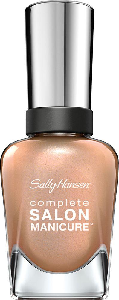 Sally Hansen Salon Manicure Keratin Лак для ногтей тон girl 216 14,7 млУТ000000909Комплекс Complete Salon Manicure сочетает семь эффектов в одном флаконе, плюс кисточку для безукоризненного покрытия, легкого нанесения и салонных результатов. Эта формула всё-в-одном обеспечивает до 10 дней устойчивого к сколам покрытия и включает основу, средство для роста, вдохновленный подиумом цвет, топ, финишное покрытие с гелевым сиянием, устойчивость к сколам и укрепляющее средство с кератиновым комплексом, делающим ногти до 64% сильнее. Это всё, что вам нужно, чтобы достичь профессиональных результатов при окрашивании ногтей на дому!