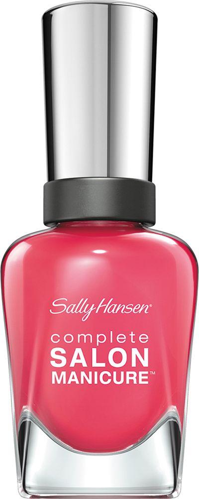 Sally Hansen Salon Manicure Keratin Лак для ногтей тон i pink i can 540 14,7 млFA-8116-1 White/pinkКомплекс Complete Salon Manicure сочетает семь эффектов в одном флаконе, плюс кисточку для безукоризненного покрытия, легкого нанесения и салонных результатов. Эта формула всё-в-одном обеспечивает до 10 дней устойчивого к сколам покрытия и включает основу, средство для роста, вдохновленный подиумом цвет, топ, финишное покрытие с гелевым сиянием, устойчивость к сколам и укрепляющее средство с кератиновым комплексом, делающим ногти до 64% сильнее. Это всё, что вам нужно, чтобы достичь профессиональных результатов при окрашивании ногтей на дому!