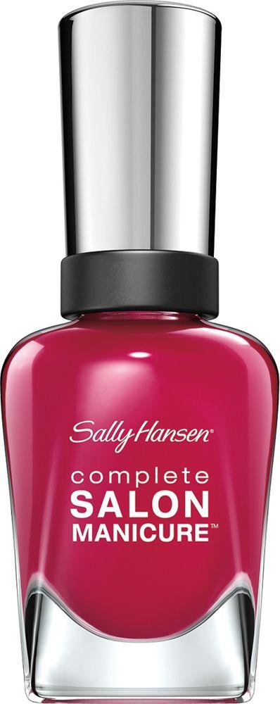 Sally Hansen Salon Manicure Keratin Лак для ногтей тон berry important #543 14,7 млУТ000000909Комплекс Complete Salon Manicure сочетает семь эффектов в одном флаконе, плюс кисточку для безукоризненного покрытия, легкого нанесения и салонных результатов. Эта формула всё-в-одном обеспечивает до 10 дней устойчивого к сколам покрытия и включает основу, средство для роста, вдохновленный подиумом цвет, топ, финишное покрытие с гелевым сиянием, устойчивость к сколам и укрепляющее средство с кератиновым комплексом, делающим ногти до 64% сильнее. Это всё, что вам нужно, чтобы достичь профессиональных результатов при окрашивании ногтей на дому!