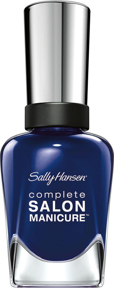 Sally Hansen Salon Manicure Keratin Лак для ногтей,тон a bleu attitudeE7211Комплекс Complete Salon Manicure сочетает семь эффектов в одном флаконе, плюс кисточку для безукоризненного покрытия, легкого нанесения и салонных результатов. Эта формула всё-в-одном обеспечивает до 10 дней устойчивого к сколам покрытия и включает основу, средство для роста, вдохновленный подиумом цвет, топ, финишное покрытие с гелевым сиянием, устойчивость к сколам и укрепляющее средство с кератиновым комплексом, делающим ногти до 64% сильнее. Это всё, что вам нужно, чтобы достичь профессиональных результатов при окрашивании ногтей на дому!