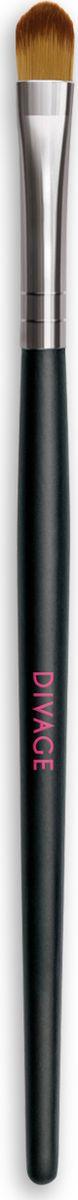 Divage Accessories - Кисть для теней с нейлоновым ворсом80284338Кисть для нанесения теней из нейлоновых волокон идеально подходит для создания профессионального макияжа. Сверхмягкие нейлоновые волокна кисти легко и равномерно распределят тени по поверхности века и растушуют карандашную линию. Кисть из нейлонового микроволокна подходит для нанесения кремовых теней. Сохраняет форму в течение долгого времени.