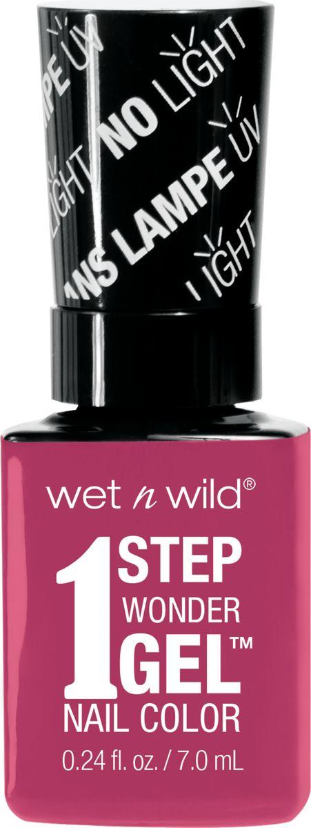 Wet n Wild Гель-лак для ногтей 1 Step Wonder Gel E7231 it`s sher-bert day0003929Лак держится до двух недель. Сохнет без использования ультрафиолетовой лампы, легко удаляется и не повреждает ногтевую пластину, не содержит толуола и фталатов.