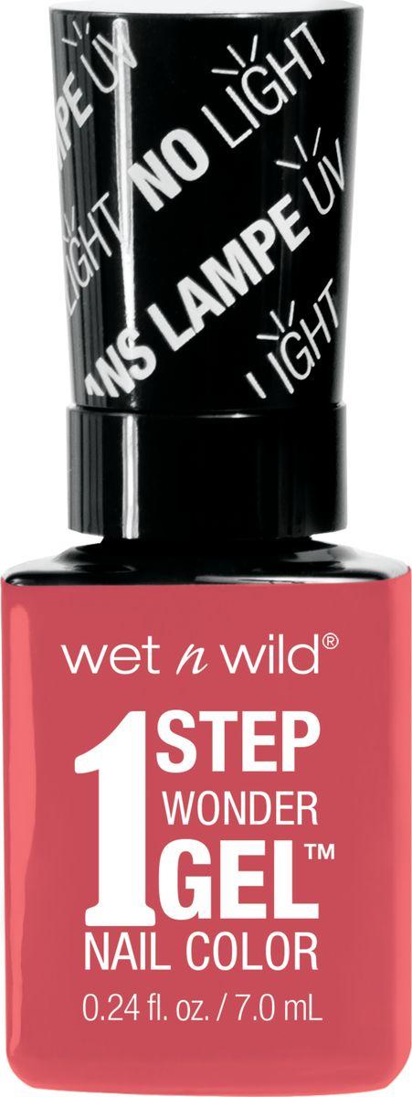 Wet n Wild Гель-лак для ногтей 1 Step Wonder Gel E7251 coral supportSatin Hair 7 BR730MNЛак держится до двух недель. Сохнет без использования ультрафиолетовой лампы, легко удаляется и не повреждает ногтевую пластину, не содержит толуола и фталатов.