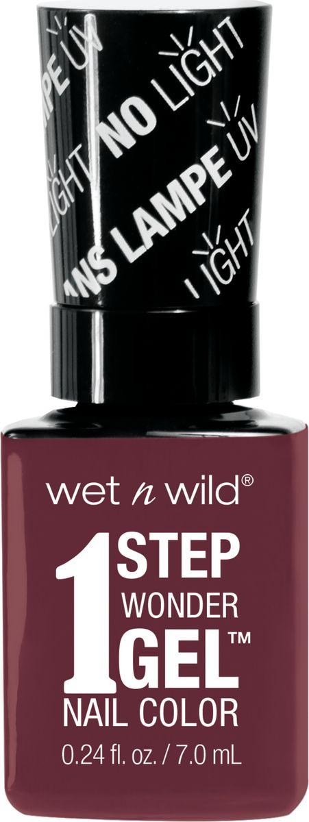 Wet n Wild Гель-лак для ногтей 1 Step Wonder Gel E7331 left maroonedE7331Лак держится до двух недель. Сохнет без использования ультрафиолетовой лампы, легко удаляется и не повреждает ногтевую пластину, не содержит толуола и фталатов.