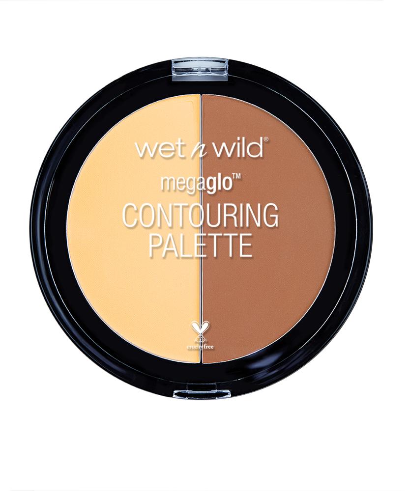 Wet n Wild Набор Для Контуринга Megaglo Contouring Palette Contour E7501 caramel toffee2101-WX-01Cкульптурирующая прессованная-пудра визуально корректирует рельеф лица для мгновенного преобразования. Прессованная текстура способствует легкому нанесению без дополнительных инструментов, обеспечивая длительный и стойкий результат.