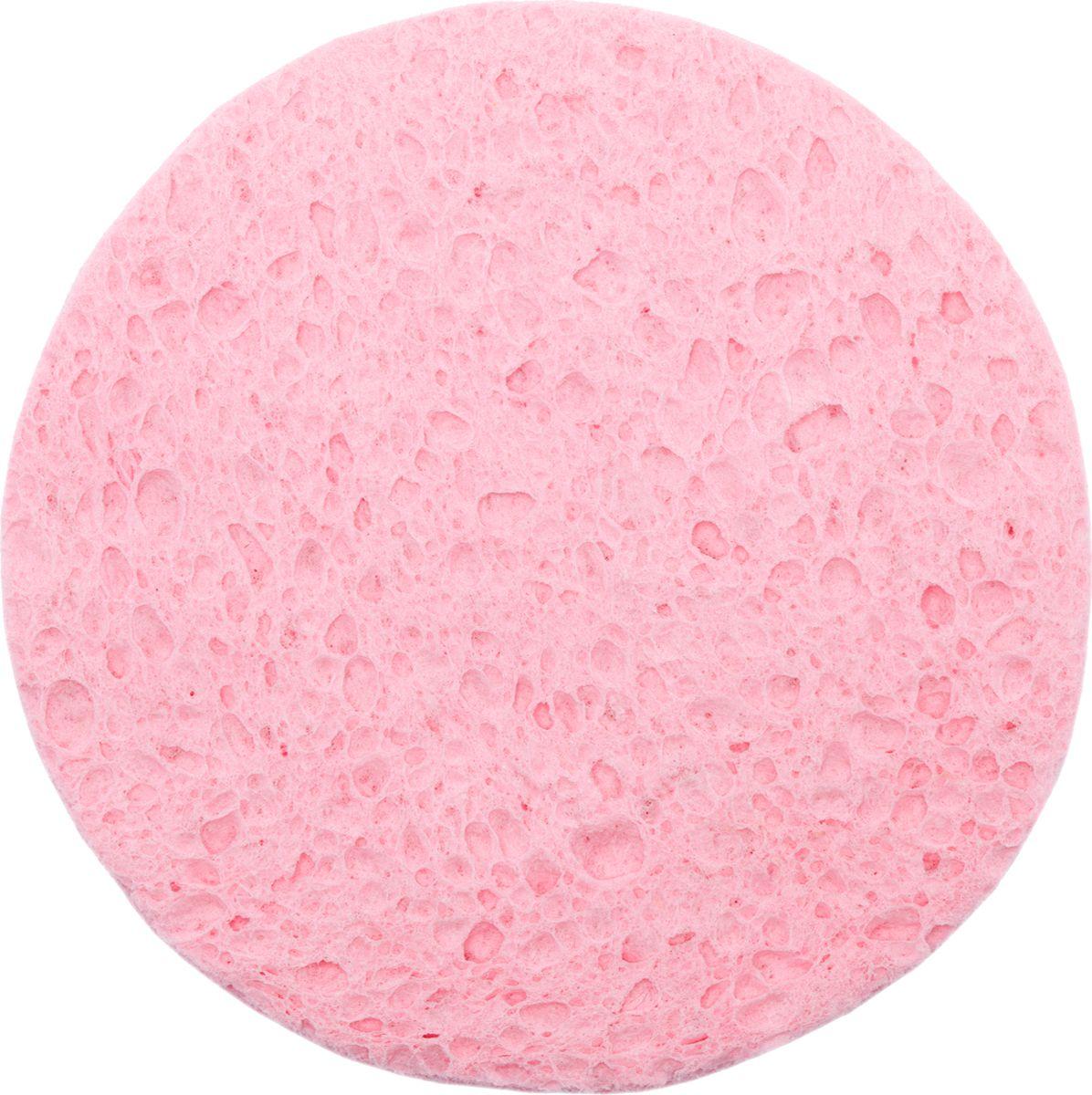 Divage Accessories - Спонж круглый из натуральной целлюлозы, розовый1301210Косметический спонж - натуральная губка для быстрого и мягкого очищения кожи лица. Спонж изготовлен из натуральной целлюлозы и используется в косметологии для демакияжа и пиллингов. Благодаря своей пористой структуре спонж позволяет мягко и бережно отшелушивать кожу, что придает лицу особую мягкость и свежесть. Мягкий массаж лица спонжем помогает усилить микроциркуляцию крови в зоне лица и придать твоей нежной коже дополнительный тонус и эластичность. СОВЕТ ОТ DIVAGE: Перед использованием увлажни спонж теплой водой для его размягчения. Используй для демакияжа, снятия остатков косметических масок, а также пиллингов с использованием косметических средств. После использования тщательно промой спонж теплой водой с мылом, бережно отожми и просуши для дальнейшего применения.