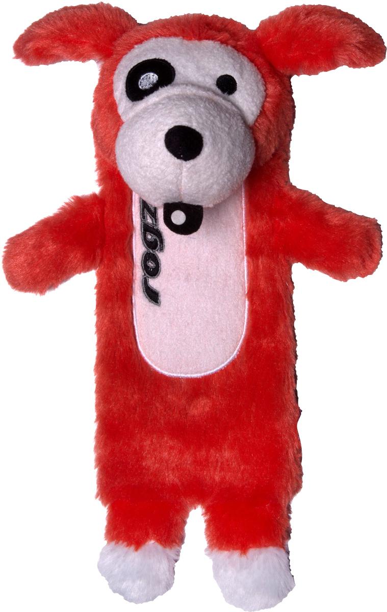 Игрушка для собак Rogz Thinz. Собака, цвет: красный, длина 20 смGLG043Игрушка для собак Rogz Thinz. Собака предназначена для животных, которые любят играть в Поймай-принеси. Есть возможность поместить в игрушку пластиковую бутылку для дополнительного интереса у собаки. Небольшой вес изделия. Игрушка не травмирует зубы и десны.Удобна для переноски животных.Внутри игрушки – пищалка, что поддерживает интерес животного к игре.