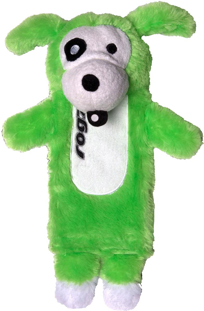 Игрушка для собак Rogz Thinz. Собака, цвет: лайм, длина 26 см12171996Игрушка для собак Rogz Thinz. Собака предназначена для животных, которые любят играть в Поймай-принеси. Есть возможность поместить в игрушку пластиковую бутылку для дополнительного интереса у собаки. Небольшой вес изделия. Игрушка не травмирует зубы и десны.Удобна для переноски животных.Внутри игрушки – пищалка, что поддерживает интерес животного к игре.