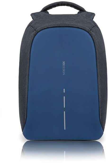 Рюкзак для ноутбука XD design Bobby Compact, до 14, цвет: темно-серый, темно-синий, 11 л332515-2800Рюкзак для ноутбука до 14 XD design Bobby Compact - это второе поколение противоугонного рюкзака меньшего размера. Несмотря на то, что габариты изделия стали меньше, благодаря продуманному расположению и устройству отделений влезет все, что может пригодиться в течение дня.Преимущества: • Полная защита от карманников: не открыть, не порезать.• Вшитый USB-порт для зарядки гаджетов.• Светоотражающие полосы.• Супер-легкий: на 25% легче аналогов.• Отделение для ноутбука до 14.• Отделение для планшета.• Чехол-кошелек для мелких аксессуаров.• Крепления для бутылки воды и камеры.