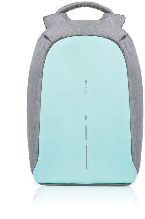 Рюкзак для ноутбука XD design Bobby Compact, до 14, цвет: серый, бирюзовый, 11 л332515-2800Рюкзак для ноутбука до 14 XD design Bobby Compact - это второе поколение противоугонного рюкзака меньшего размера. Несмотря на то, что габариты изделия стали меньше, благодаря продуманному расположению и устройству отделений влезет все, что может пригодиться в течение дня.Преимущества: • Полная защита от карманников: не открыть, не порезать.• Вшитый USB-порт для зарядки гаджетов.• Светоотражающие полосы.• Супер-легкий: на 25% легче аналогов.• Отделение для ноутбука до 14.• Отделение для планшета.• Чехол-кошелек для мелких аксессуаров.• Крепления для бутылки воды и камеры.