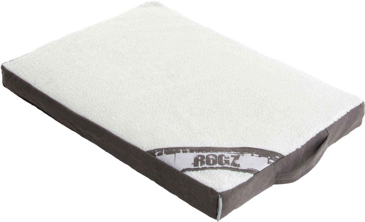 Лежак для животных Rogz Lounge Pod, со съемным чехлом, 12 х 129 х 86 смFLXL02Суперкомфортный лежак-матрас для животных Rogz Lounge Pod выполнен из высокопрочного Имеется съемный чехол, который легко стирается.