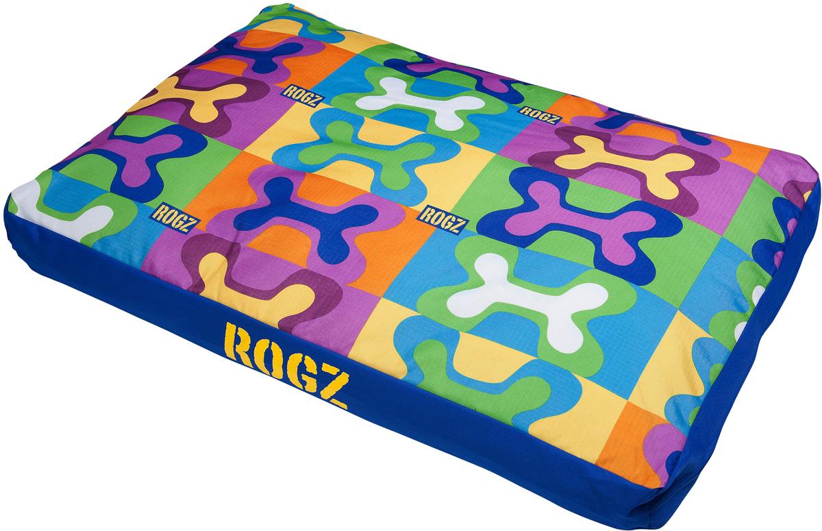 Лежак для животных Rogz Spice Podz, со съемным чехлом, 10 х 83 х 56 см. FPM28FPM28Лежак для животных Rogz Spice Podz обеспечивает удобство и комфорт.Особо прочная ткань Ripstop с водоотталкивающим покрытием обладает также грязеотталкивающими свойствами.Съемный чехол на молнии.Дизайн 2 в 1.Машинная стирка.