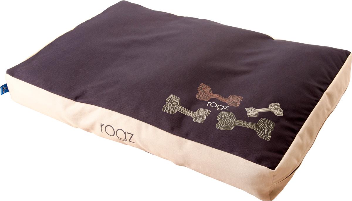 Лежак для животных Rogz Spice Podz, со съемным чехлом, 11 х 107 х 72 см. FPLCE0120710Лежак для животных Rogz Spice Podz обеспечивает удобство и комфорт.Особо прочная ткань Ripstop с водоотталкивающим покрытием обладает также грязеотталкивающими свойствами.Съемный чехол на молнии.Дизайн 2 в 1.Машинная стирка.