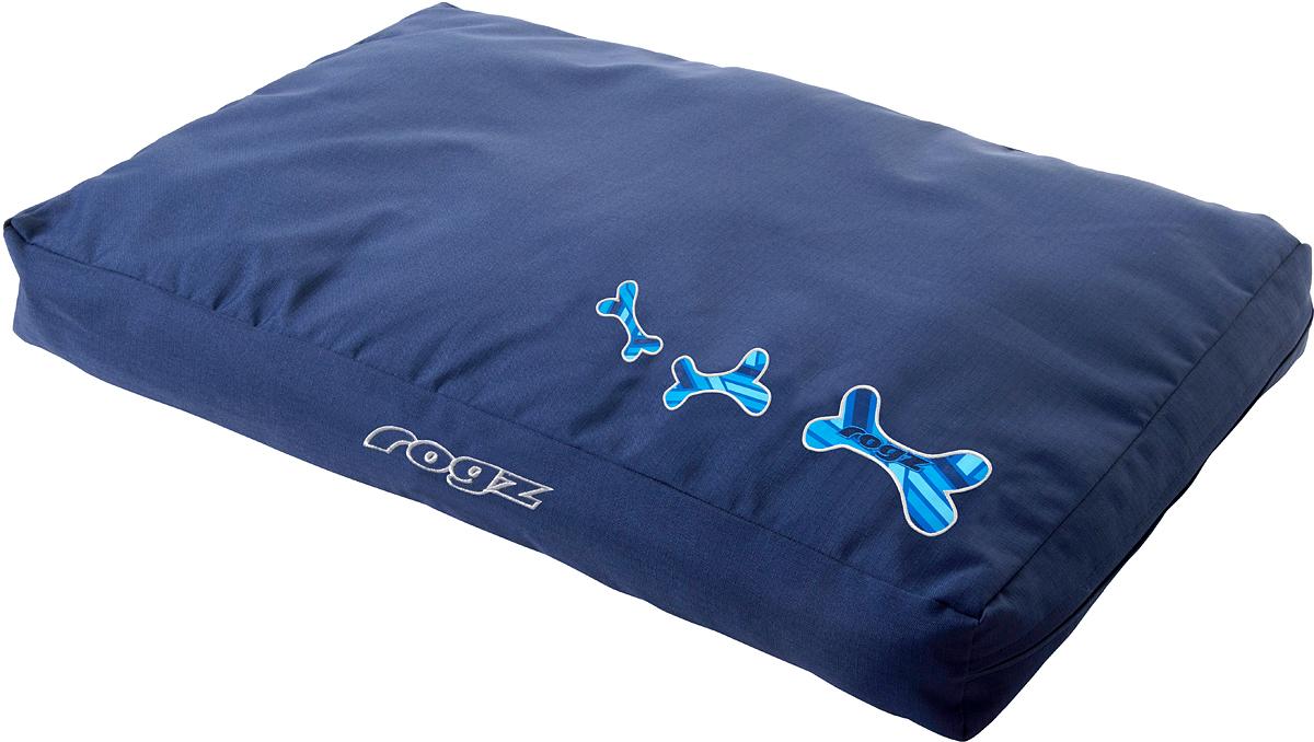 Лежак для животных Rogz Spice Podz, со съемным чехлом, 12 х 129 х 86 см. FPXLCDFPXLCDЛежак для животных Rogz Spice Podz обеспечивает удобство и комфорт.Особо прочная ткань Ripstop с водоотталкивающим покрытием обладает также грязеотталкивающими свойствами.Съемный чехол на молнии.Дизайн 2 в 1.Машинная стирка.