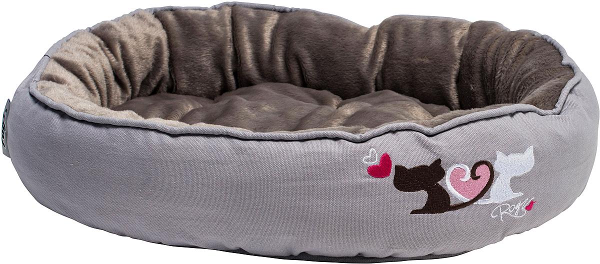 Лежак для кошек Rogz Snug Podz, 13 х 56 х 39 см, цвет: серыйCPM01Лежак для кошек Rogz Snug Podz имеет красивый дизайн.Высококачественный хлопковыйобеспечивает мягкость и комфорт.Флисовая подкладка.Машинная стирка.