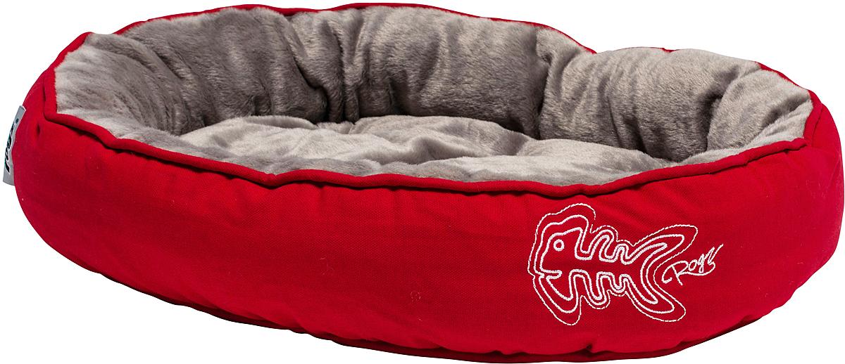 Лежак для кошек Rogz Snug Podz, 13 х 56 х 39 см, цвет: красный0120710Лежак для кошек Rogz Snug Podz имеет красивый дизайн.Высококачественный хлопковыйобеспечивает мягкость и комфорт.Флисовая подкладка.Машинная стирка.