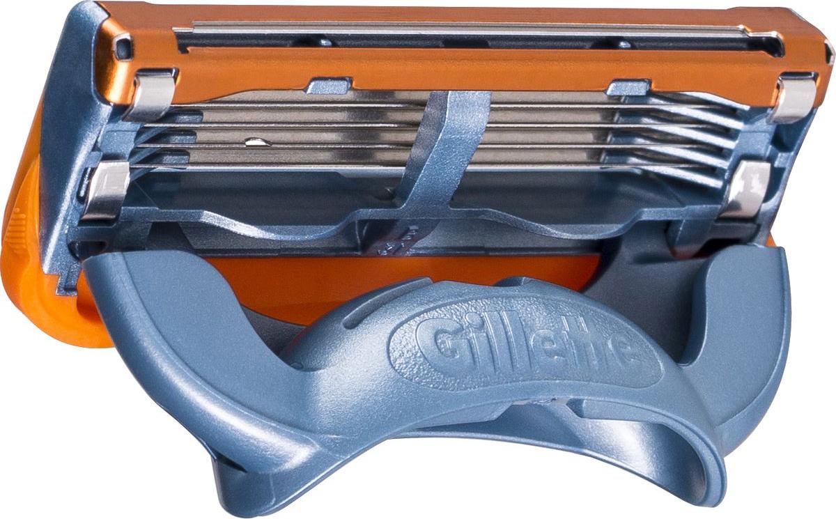 Gillette Сменные Кассеты для Мужской Бритвы Fusion Power, 2 шт