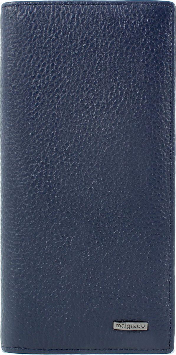 Портмоне мужское Malgrado, цвет: синий. 73401-5003волк полярныйВместительное вертикальное портмоне Malgrado выполнено из мягкой натуральной кожи. На внутренней левой стороне имеется 7 кармашков для пластиковых карточек и 2 вертикальных больших кармана для купюр. На правой внутренней стороне имеется 3 продольных кармана для купюр и 1 карман на молнии для мелочи.Размер: 18 х 9 х 1 см.