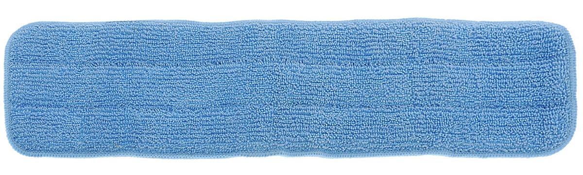 Насадка для швабры Apex, цвет: голубой, длина 40 см10198-A_голубойСменная насадка для швабры Apex, изготовленная из 70% полиэстера и 30% полиамида, предназначена для влажной уборки поверхностей: паркет, линолеум, кафель и других напольных покрытий. Изделие не оставляет разводов и ворсинок, прекрасно собирает пыль и удаляет загрязнения. Легко споласкивается водой, не требует дополнительного ухода. Размер насадки: 40 х 13,5 см.
