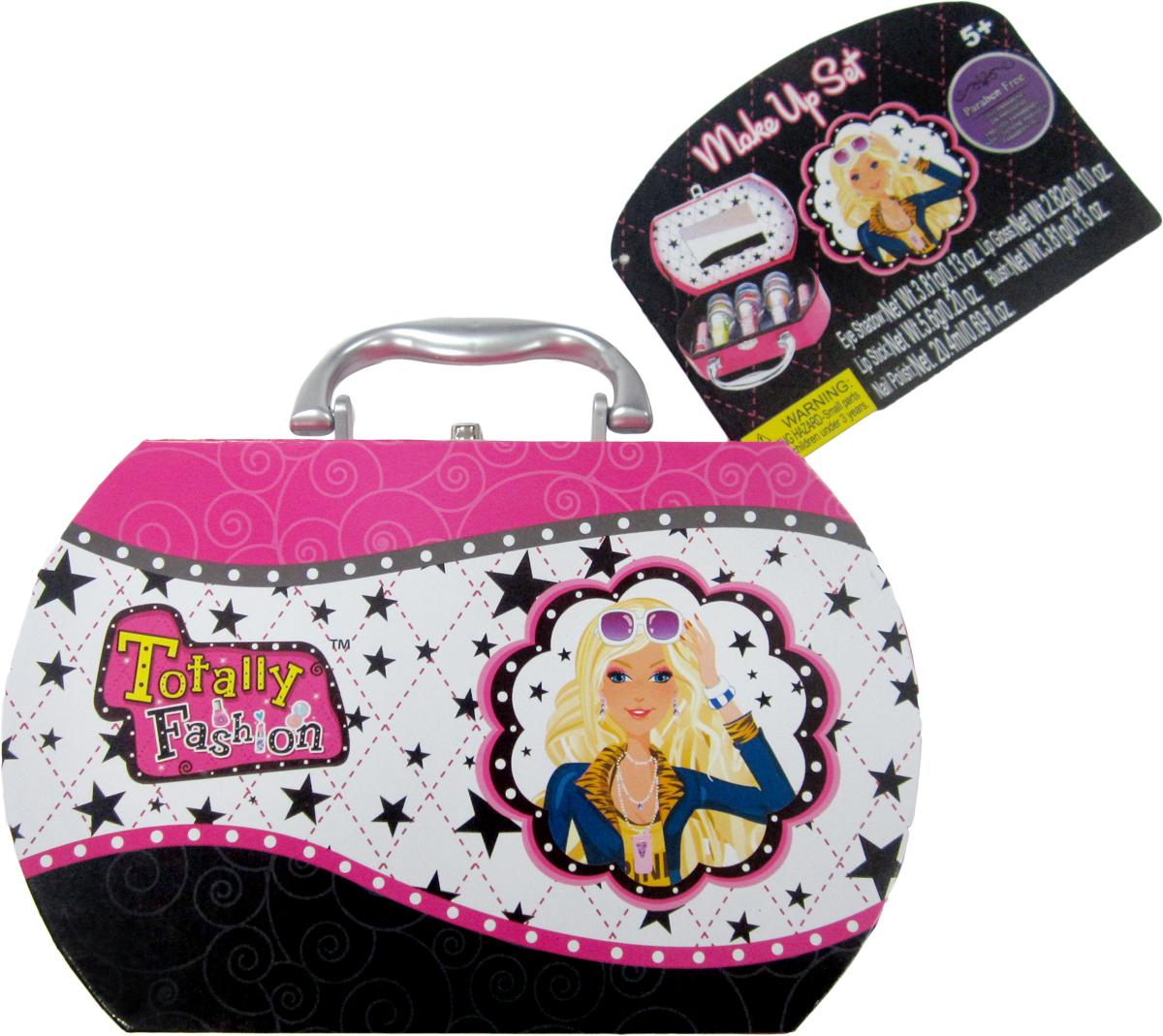 Totally Fashion Набор детской декоративной косметики ШкатулкаNL018-84714В наборе: помада для губ- 2 тона, тени для век- 3 тона,блеск для губ- 3 т она, лак для ногтей- три тона, Имеется ПАСПОРТ БЕЗОПАСНОСТИ МАТЕРИАЛА/ Макияж можно снять, с помощью ватного диска, используя средство для снятия макияжа или просто тёплой водой. Для снятия лака не нужны специальные средства: лак постепенно смывается водой, при мытье рук в течение 2-х дней, или же его можно удалить с помощью детского масла.Детская косметика помогает девочкам почувствовать себя взрослыми. Она может стать частью практически любой девичьей игры: поход в магазин, дочки-матери, игра в стилиста, визажиста. С данным набором можно не только играть, но и использовать по особым случаям (День рождение, утренник, выступление). После того, как косметика закончится, в небольшой шкатулочке можно будет хранить резиночки, заколочки, бижутерию.